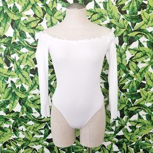 ASOS Off The Shoulder Bodysuit